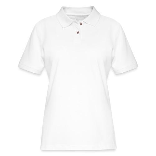 V-Star White - Women's Pique Polo Shirt