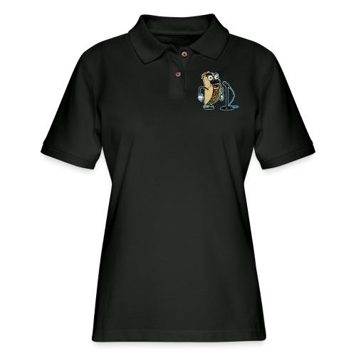 Tacos and Karaoke - Women's Pique Polo Shirt