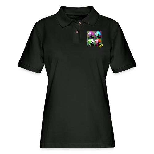 ZGW - The Warhol Tee - Women's Pique Polo Shirt