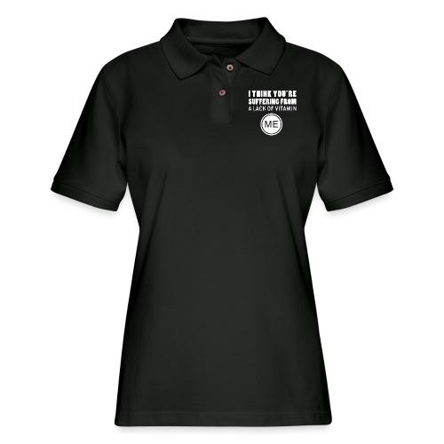 Vitamin Me - Women's Pique Polo Shirt