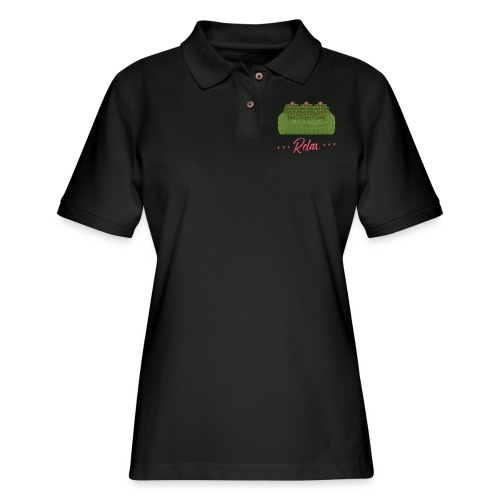 Relax! - Women's Pique Polo Shirt