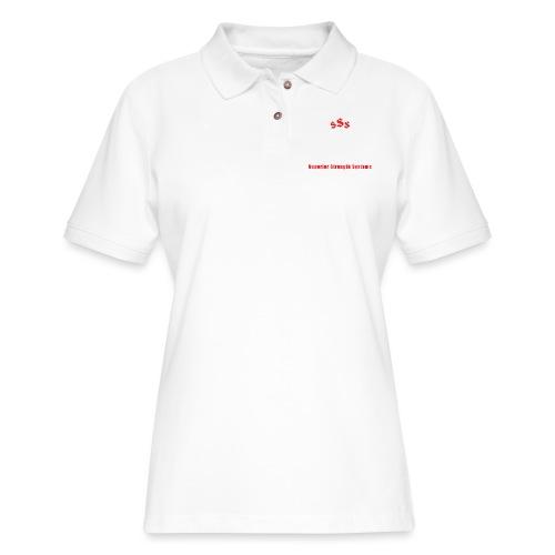 Powerlifting Team - Women's Pique Polo Shirt