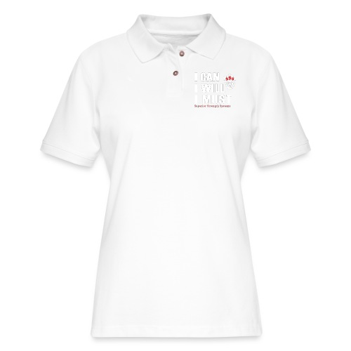 I can I will I must - Women's Pique Polo Shirt