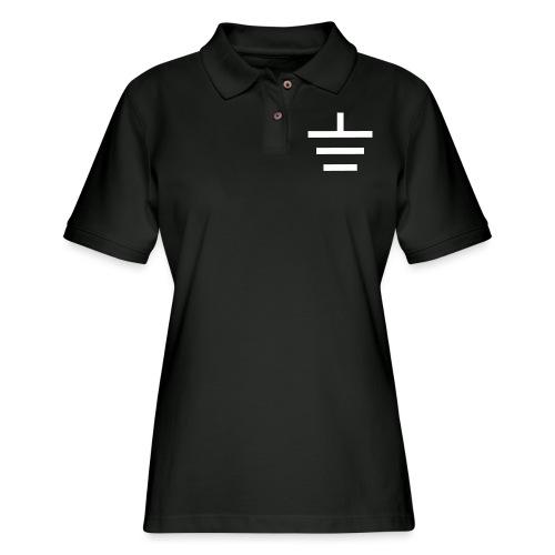 GROUNDED - BASEBALL CAP - Women's Pique Polo Shirt