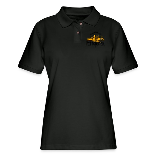 Is This Heaven? No, It's Pittsburgh - Women's Pique Polo Shirt