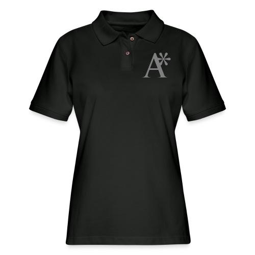 A* logo - Women's Pique Polo Shirt