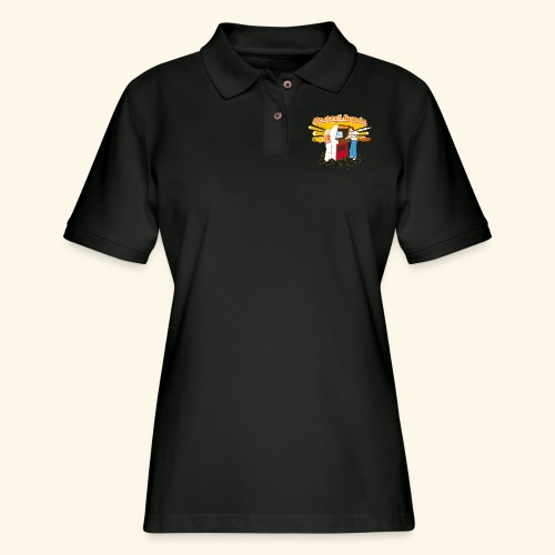 Master of the Arcade - Women's Pique Polo Shirt