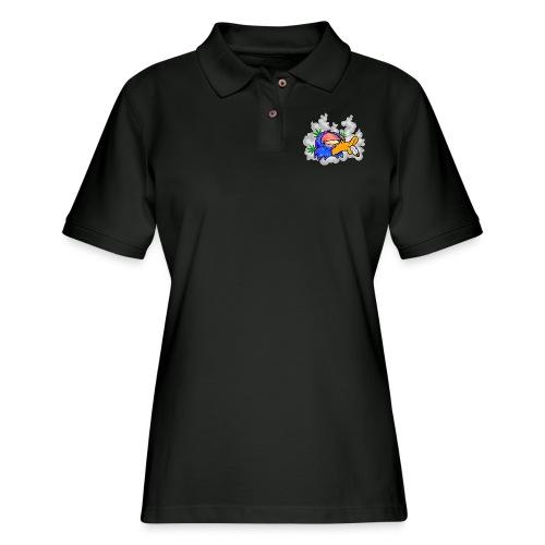 ChronicDuck - Women's Pique Polo Shirt
