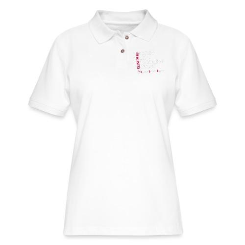 Persist Until Something Happens - Women's Pique Polo Shirt