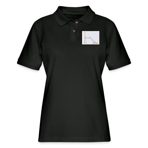 PD Cover Art - Women's Pique Polo Shirt