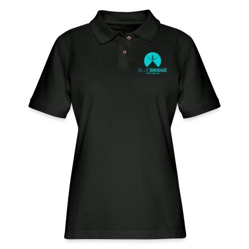 Blue Bridge - Women's Pique Polo Shirt