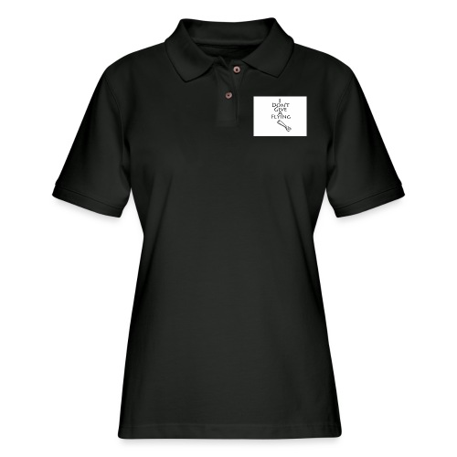 I Don't Give A Flying Fork - Women's Pique Polo Shirt