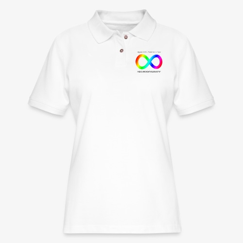 Embrace Neurodiversity - Women's Pique Polo Shirt