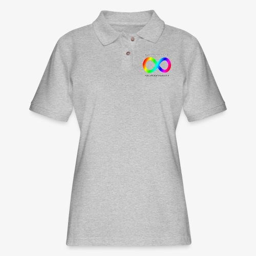 Embrace Neurodiversity - Women's Pique Polo Shirt