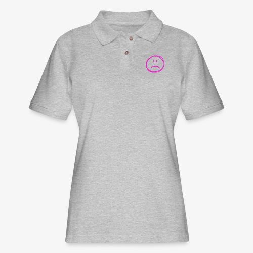 :( - Women's Pique Polo Shirt