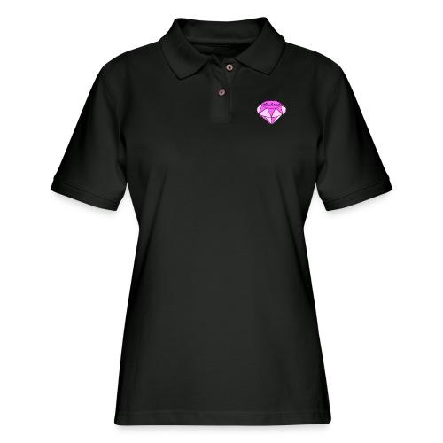 LIT MERCH - Women's Pique Polo Shirt
