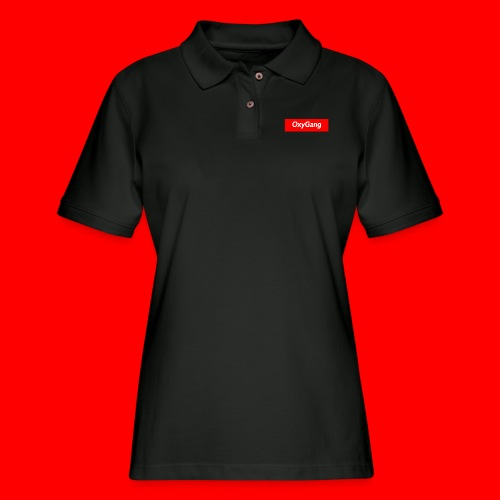 OxyGang: Red Box Products - Women's Pique Polo Shirt