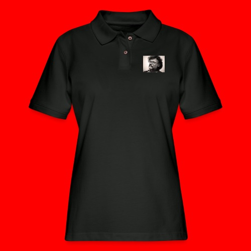 OxyGang: Woke Terence McKenna - Women's Pique Polo Shirt