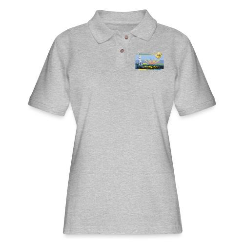 Bentley Blockade - Women's Pique Polo Shirt