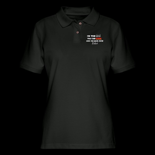 The Witch You Did Burn - Women's Pique Polo Shirt