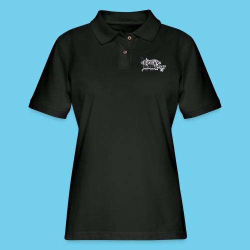 Chlorine Gear Textual B W - Women's Pique Polo Shirt