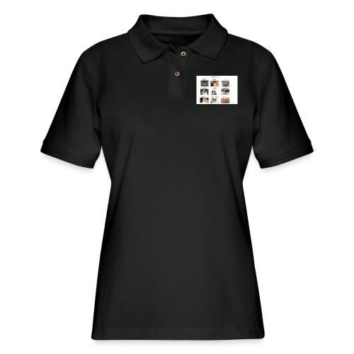 MOOD BOARD - Women's Pique Polo Shirt