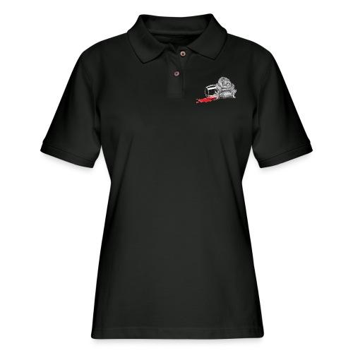 Tipsy Owl - Women's Pique Polo Shirt