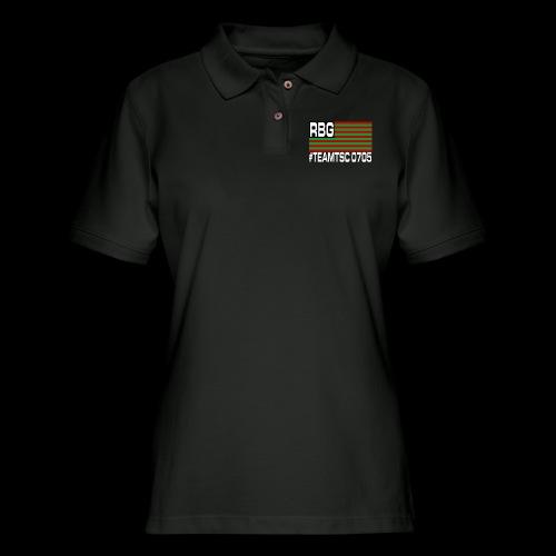 TeamTSC RBGFlag 2 - Women's Pique Polo Shirt