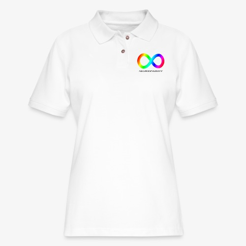 Neurodiversity - Women's Pique Polo Shirt