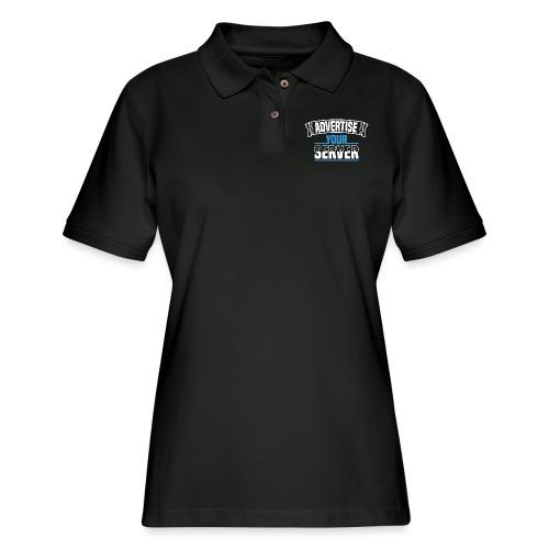 AYS Word Mashup - Women's Pique Polo Shirt