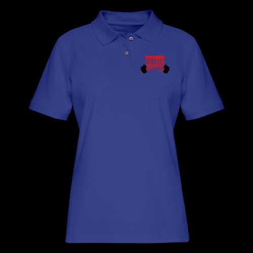 Live Free - Women's Pique Polo Shirt