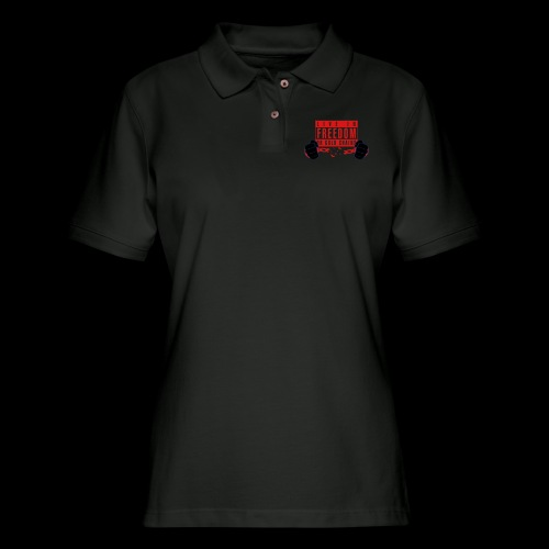 Live Free - Women's Pique Polo Shirt