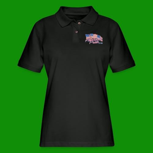 American Pride - Women's Pique Polo Shirt