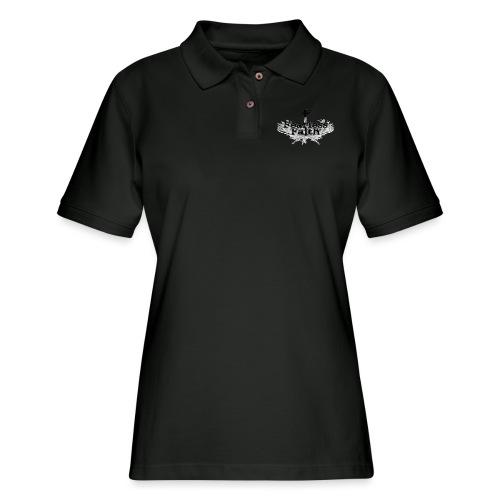 imageedit 3 4461722366 gif - Women's Pique Polo Shirt