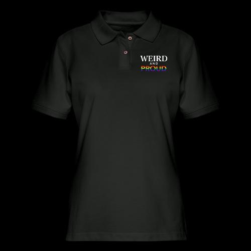 Weird Proud - Women's Pique Polo Shirt