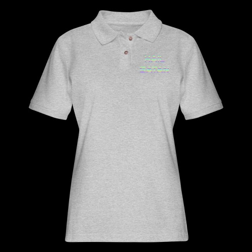 Hail Satan - Vaporwave - Women's Pique Polo Shirt