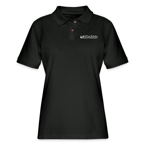 TeamSnagg Logo - Women's Pique Polo Shirt