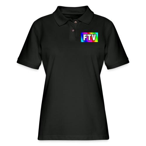 Rainbow FTV - Women's Pique Polo Shirt