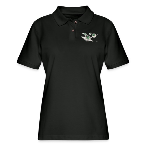 Tours of Planet Stupid - Women's Pique Polo Shirt