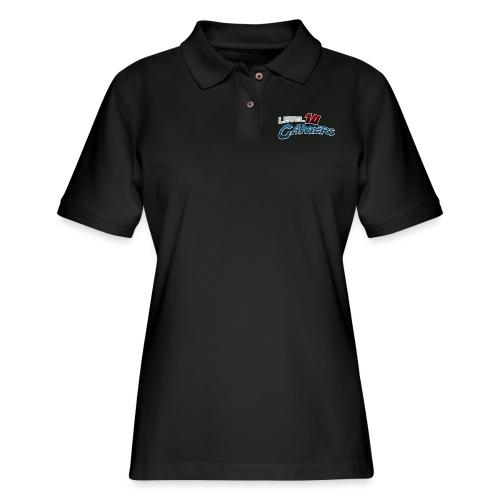 Level10Gamers Logo - Women's Pique Polo Shirt