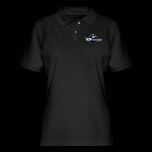RadioCrypto Logo 1 - Women's Pique Polo Shirt