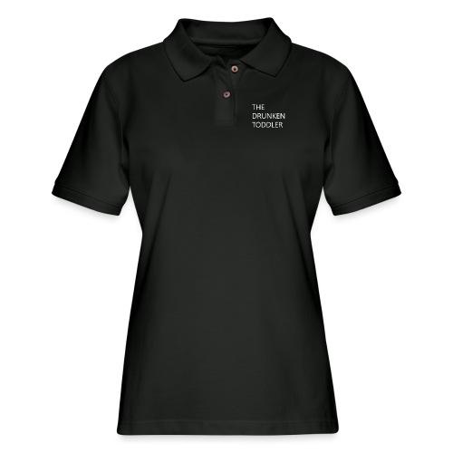 Drunken Toddler - Women's Pique Polo Shirt