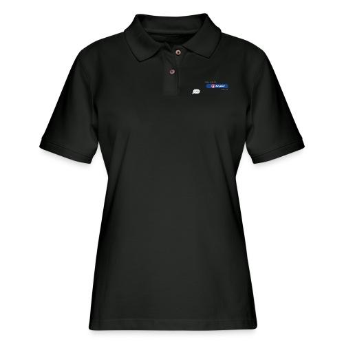 BULGEBULLTEXT - Women's Pique Polo Shirt