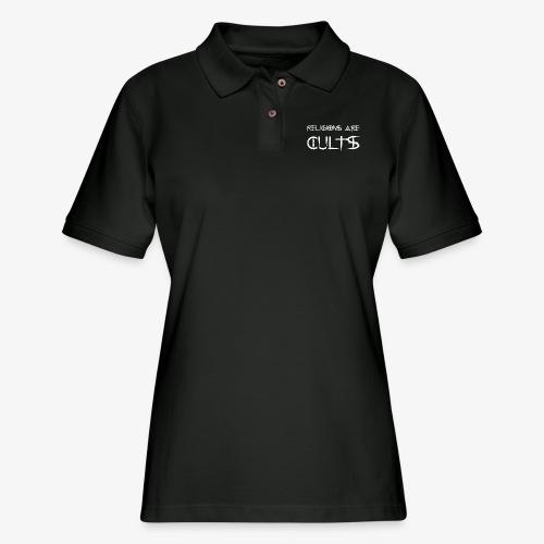 cults - Women's Pique Polo Shirt