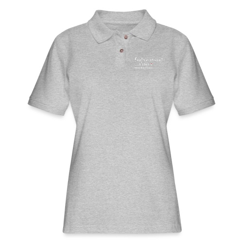 Feeling Strong Always - Women's Pique Polo Shirt