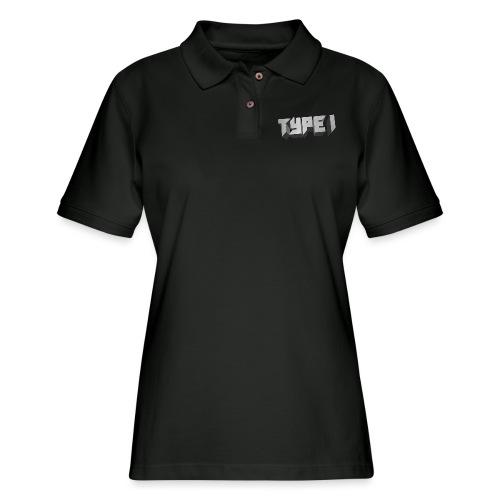TYPE 1 - Women's Pique Polo Shirt
