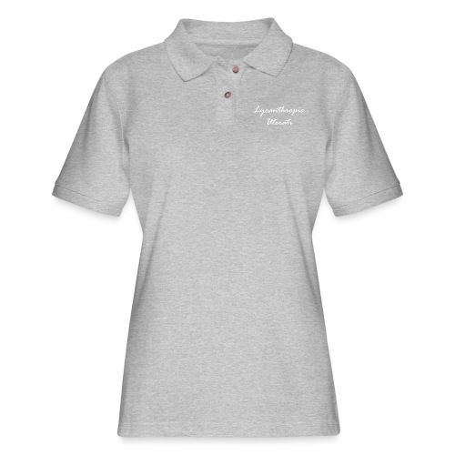 Lycanthropic Uterati - Women's Pique Polo Shirt