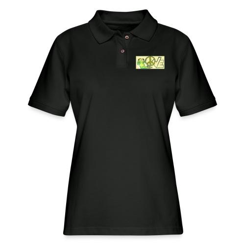 Love - Women's Pique Polo Shirt