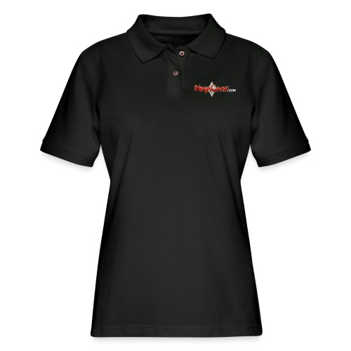 NC Logo for Dark Products - Women's Pique Polo Shirt