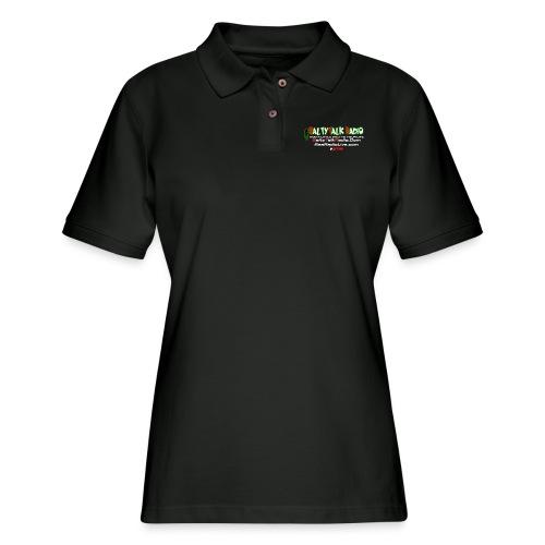 str back png - Women's Pique Polo Shirt